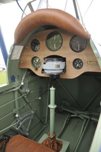 Tiger Moth cockpit picture
