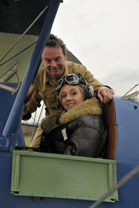 tiger moth experience flight student
